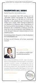 Jahrestreffen weiblicher Führungskräfte - women&work - Seite 4