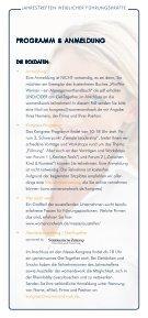 Jahrestreffen weiblicher Führungskräfte - women&work - Seite 5