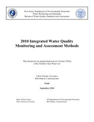 2010 Integrated Water Quality Monitoring and Assessment Methods