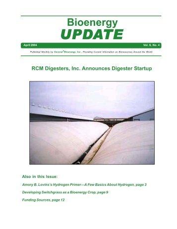 Bioenergy Update 10-02 - General*Bioenergy