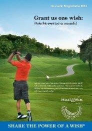 2012 Golf Program - Make-A-Wish Malaysia