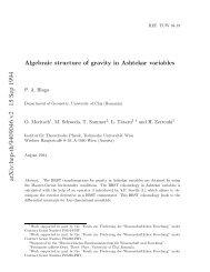 arXiv:hep-th/9409046 v2 15 Sep 1994 - Deferential Geometry