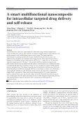 A smart multifunctional nanocomposite for intracellular targeted drug ... - Page 3