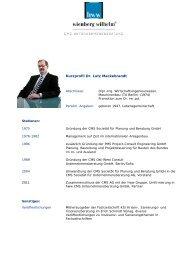 Kurzprofil Dr. Lutz Mackebrandt - Bundesverband der Freien Berufe