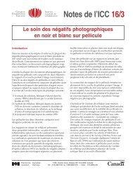 Le soin des négatifs photographiques en noir et blanc sur pellicule