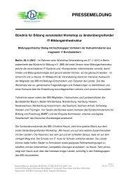 PRESSEMELDUNG - Cornelsen Verlag