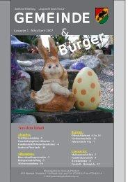 Gemeindezeitung April 2007 (0 bytes) - Piberbach - Land ...