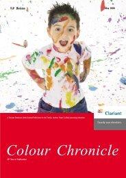 Colour Chronicle - Clariant