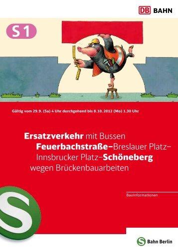 Broschüre zur Baumaßnahme PDF, 5 Seiten (Neu) - S-Bahn Berlin ...