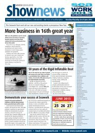 Shownews - Society of Maritime Industries