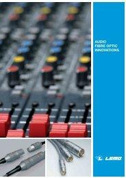 AUDIO FIBRE OPTIC INNOVATIONS - Lemo