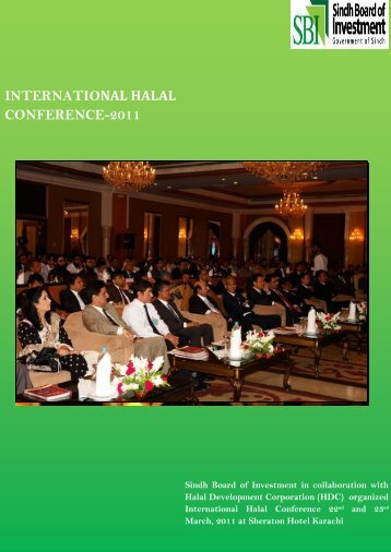international halal conference-2011 - Sindh Board Of Investment ...