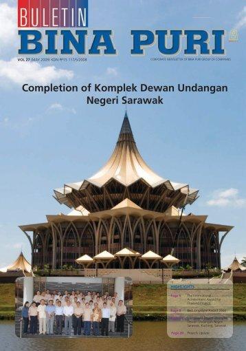 Completion of Komplek Dewan Undangan Negeri Sarawak