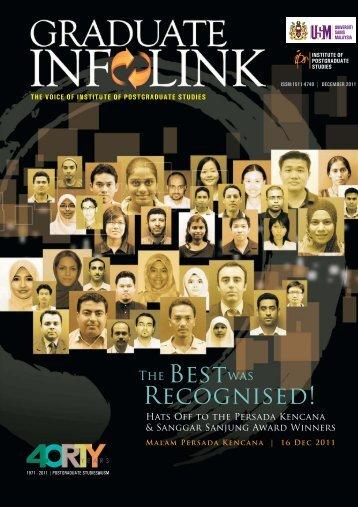 Research and Innovation - IPS - Universiti Sains Malaysia