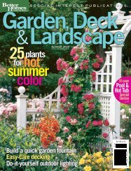 special section - Heritage Landscapes