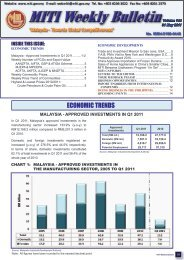 MITI Weekly Bulletin (Volume 144) - 31 May 2011 - Ministry of ...