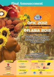 ofic 2012 - MOSTA- Malaysian Oil Scientists' and Technologists ...