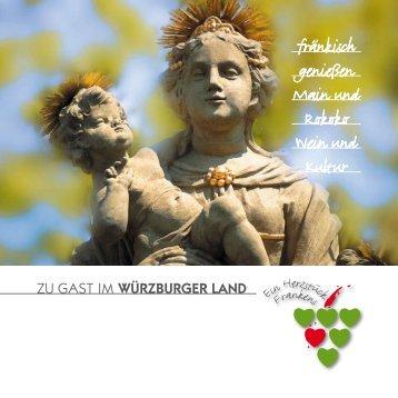 zu Gast Im Würzburger Land - Touristik GmbH im Würzburger Land