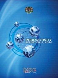 chapter 6 - Malaysia Productivity Corporation ( MPC)