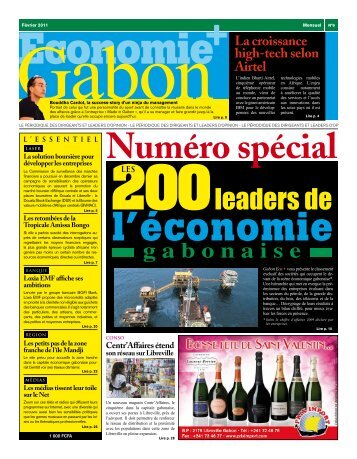 200leaders de - Economie Gabon