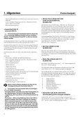 Montage-, Inbetriebnahme und Wartungsanleitung ProCon GWB ... - Page 6