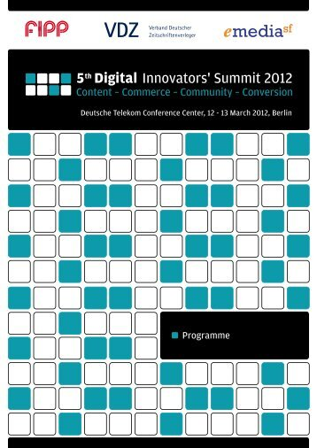 5th Digital - Digital Innovators Summit - VDZ