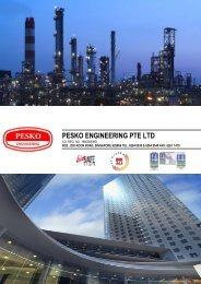 PESKO Company Profile - PESKO Engineering Pte Ltd Singapore