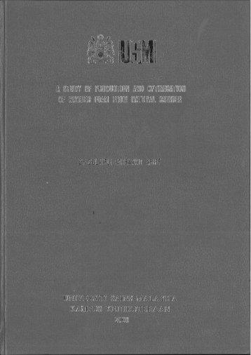 USMJANGKA. PENDEK /-FUNlMMENT7iE-(FR-GS) - ePrints@USM ...