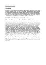 Beiträge zu interessanten Themen - Dr. Bottke