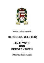HERZBERG (ELSTER) - ANALYSEN UND PERSPEKTIVEN