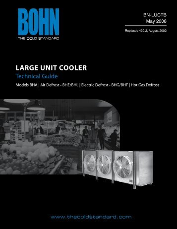 Large Unit CooLer - Heatcraft Refrigeration Products