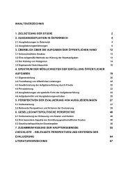 Hauptergebnisse und Schlussfolgerungen - GÖD