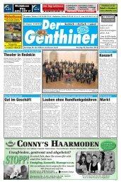 Gutscheine - Der BurgSpiegel / Der Genthiner