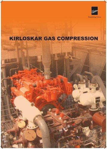 Download Gas Compressor Brochure - Kirloskar