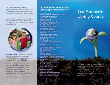 2011 Our Futures Brochure - Our Futures in Licking County