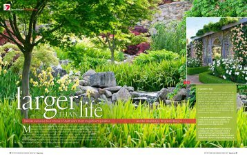 As seen in Better Homes and Gardens magazine - Mayfield Garden
