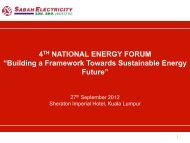 4TH NATIONAL ENERGY FORUM - Malaysian Gas Association