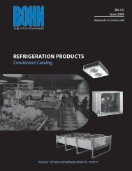 Walk-In Unit Coolers - Heatcraft Refrigeration Products