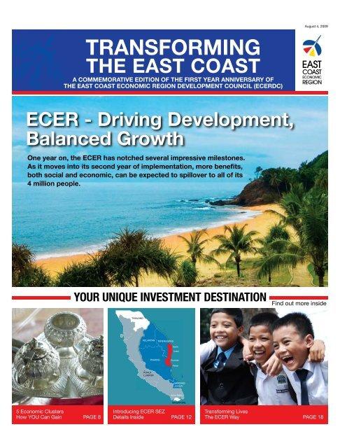 TRANSFORMING THE EAST COAST ECER - Driving Development ...