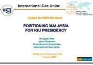 Study Group Summary Study Group Summary - Malaysian Gas ...