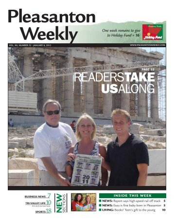READERSTAKE USALONG - Pleasanton Weekly
