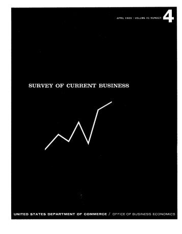 business situation - Bureau of Economic Analysis