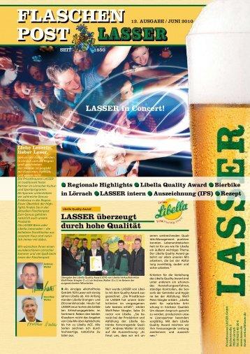 (IFS) Rezept FLASCHEN POST LASSER in Concert!