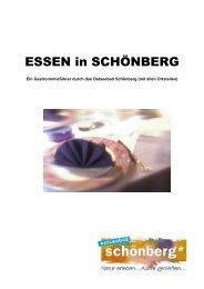 Gastro in Textform - Entwurf - Ostseebad Schönberg