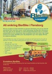 FLENSBURG Oplevelse Se og blive set Fest Alt omkring BierBike i ...