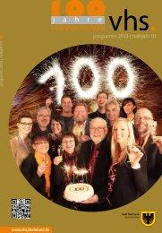 Programmheft 1. Halbjahr 2013 - VHS Dortmund