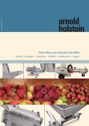 waschen – fördern – zerkleinern - Arnold Holstein GmbH