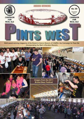 See centre pages - Bristol & District CAMRA