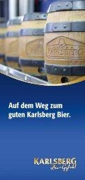 Flyer Brauereiführung als PDF downloaden - Karlsberg Brauerei