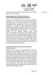 Medieninformation - Radeberger Gruppe KG